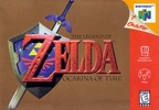 The Legend of Zelda: Ocarina of Time's cover art